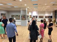 (08-29 July 2016) Skopje Summer 2016 in NLB Banka with an exhibition of Zoran Chalija